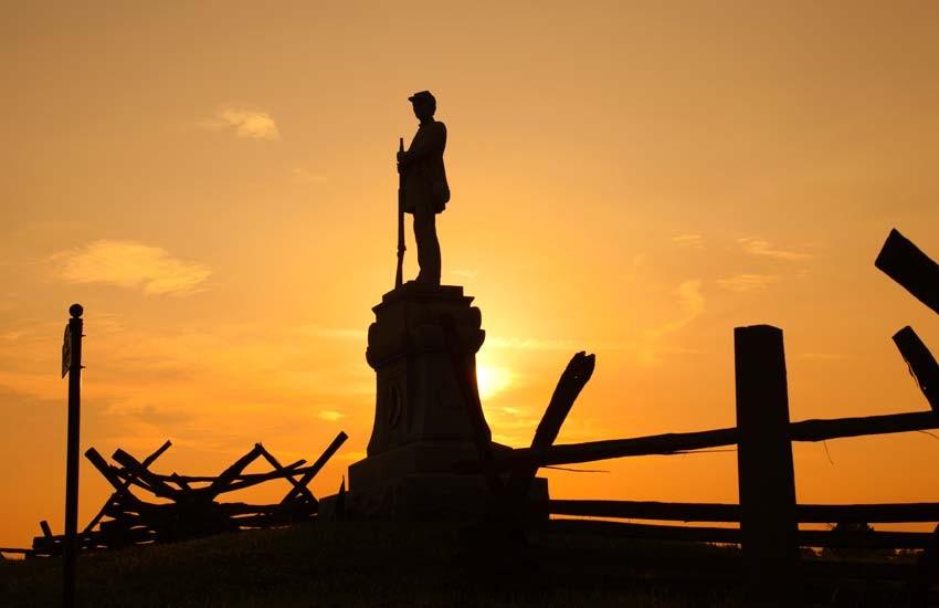 Antietam sunset