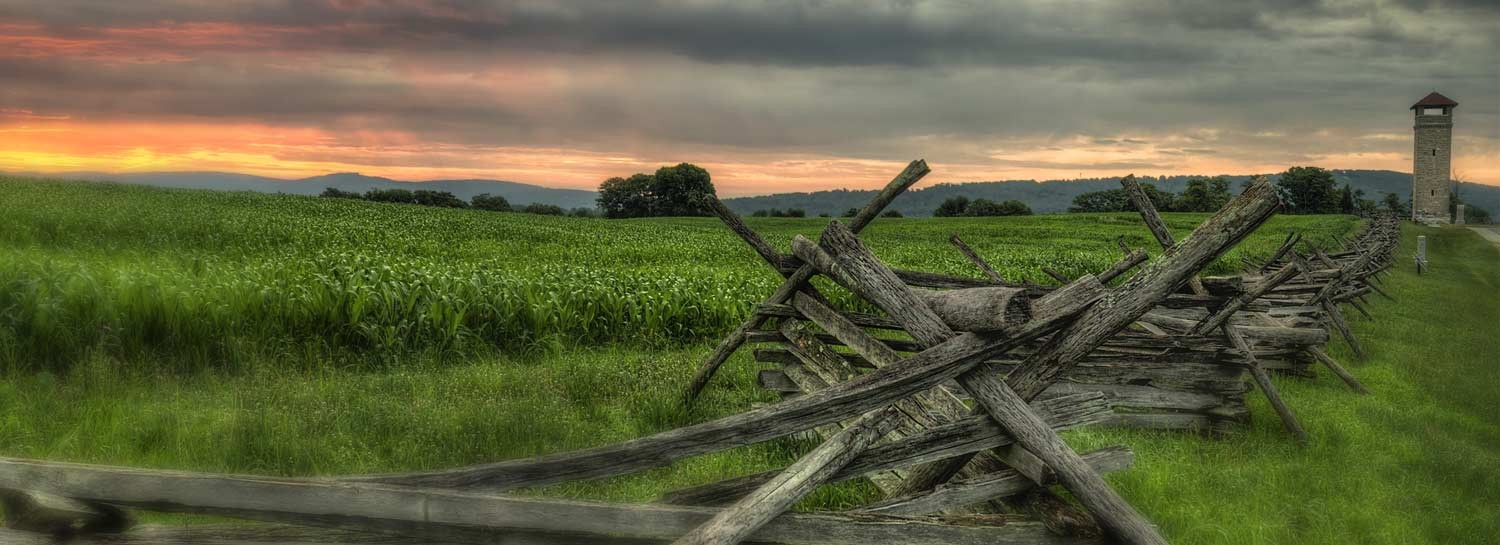 Antietam National Battlefield Fence