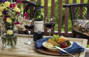 wine, fruit & cheese add-on for Sharpsburg, Maryland getaways at Jacob Rohrbach Inn