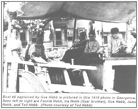 Hebb Family on the C & O circ. 1918.