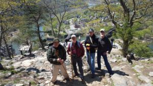 Hiking Maryland Heights at Harpers Ferry