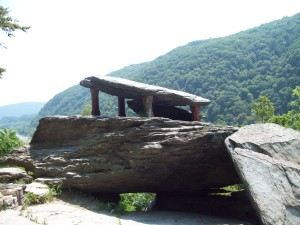 Jefferson Rock at Harpers Ferry
