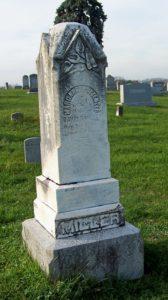 Millers gravesite