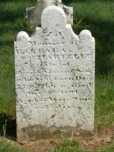 Barbara Hertzler Sherrick gravestone