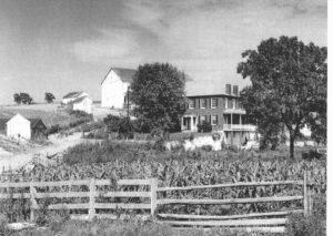 Sherrick Farm 1958
