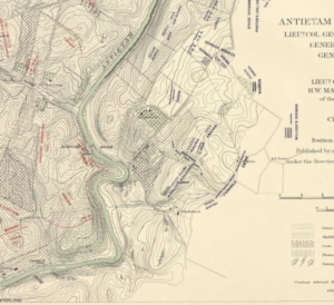 Antietam map