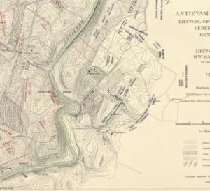 Antietam map
