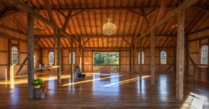 whistling wren farm inside barn