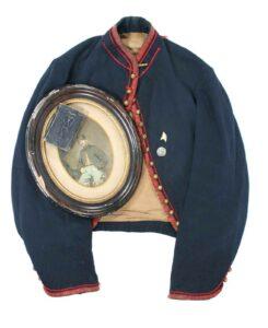 Edward N. Fulton jacket and photo