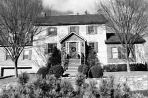 Joseph Avey's home near Taylor's Landing